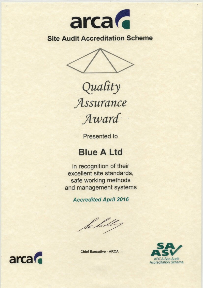 2016-Quality-Assurance-Award-2016-ARCA-april-2016