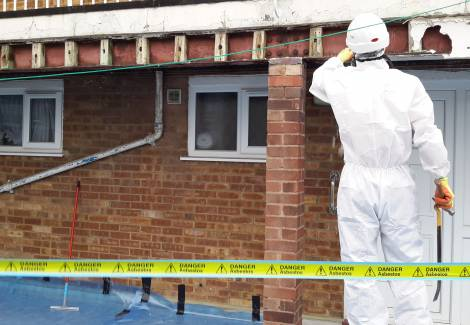 asbestos site survey 2 - Asbestos Roofs, Ceilings and Shingles Removal