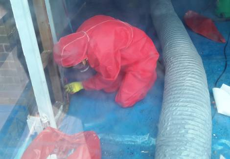 asbestos wall sheet removal - Asbestos Roofs, Ceilings and Shingles Removal