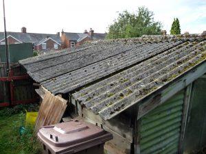 asbestos shed 300x225 - Asbestos Shed Removal