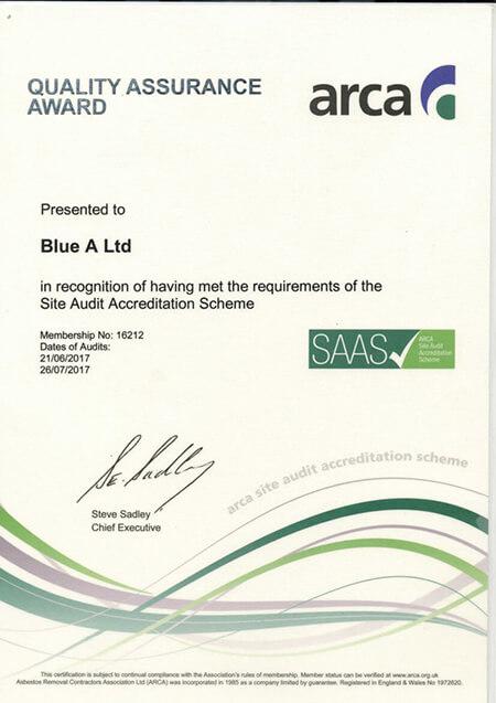 2017 ARCA quality assurance award SAAS exp.26.07.17 1 - Home